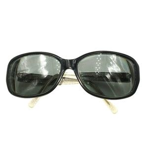 Kate Spade Black Oversized Oval Sunglasses Frames